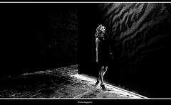 la bella e la bestia (magicoda) Tags: italia italy magicoda foto fotografia venezia venice veneto bw persone people maggidavide davidemaggi passione passion voyeur candid bianco nero white black wife upskirt tourists donna woman long legs classic friends nikon d750 dsrl reflex miniskirt 2018 ombre ombra shadow riflesso reflexion riflessi reflection biennale arsenale faccia face portrait ritratto sorriso smile dream sogni barefoot sandals