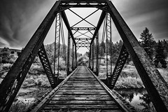 Elberton Rail Bridge (PNW-Photography) Tags: elberton whitman whitmancounty pullman palouse washington explore explored found abandoned urbex rusty dusty old