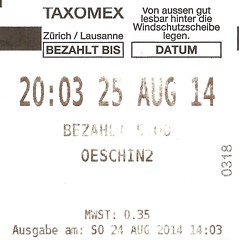 "Parkticket Schweiz • <a style=""font-size:0.8em;"" href=""http://www.flickr.com/photos/79906204@N00/44314069260/"" target=""_blank"">View on Flickr</a>"