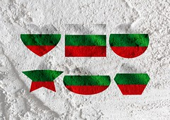 Bulgaria flag themes idea design on wall texture background (www.icon0.com) Tags: abstract art background banner bulgaria bulgarian celebration concept country curve design dimensional emblem europe flag folds frame front full graphic green icon illustration nation national patriotism pattern red sign stripe symbol texture textured three view wall wallpaper wave white cement