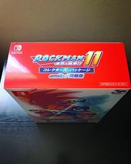 Rockman 11 Collectors Package Amiibo Edition for Switch.  #rockman11 #megaman11 #capcom #nintendo #nintendoswitch #rockman #megaman #amiibo #videogames #ロックマン (djdac) Tags: rockman11 megaman11 capcom nintendo nintendoswitch rockman megaman amiibo videogames ロックマン