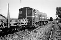 Veluwsche stoomtreinmaatschappij (Ronald_H) Tags: veluwsche stoomtreinmaatschappij ilford fp4 leica m2 black white film train vintage heritage railway vsm 2017