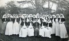 Australian WW1 nurses at Harefield Hospital, England 1915 (Aussie~mobs) Tags: matron cbe nurses harefieldhospital australia auxiliaryhospital england ww1 jennings chadwick smith ethelgray 1915 lestweforget anzac vad