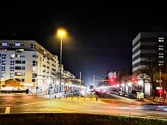 Kaiserdamm (Berliner1963) Tags: berlin deutschland germany charlottenburg kaiserdamm strase street boulevard nacht night licht light prachtstrase westend theodorheussplatz