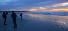 Capturing a beautiful sunset (afagen) Tags: california pacificgrove asilomarstatebeach montereypeninsula asilomar beach pacificocean ocean sunset dusk photography