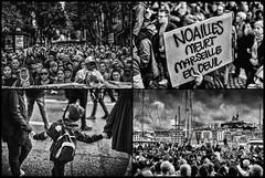 Marche blanche (JM@MC) Tags: marseille protest manifestation marcheblanche