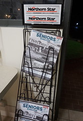 Things for Seniors to do in Ballina (spelio) Tags: ballina nsw australia may 2018 shopping window shop night street walking