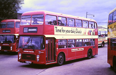Slide 125-71 (Steve Guess) Tags: barbsley south yorkshire england gb uk bus traction bristol vrt ecw kky834p