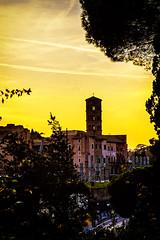 Roma (divicoa) Tags: roma romacaputmundi rome landscape paesaggio panorama sky sun sunset