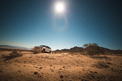 Full Moon (Alex Winand) Tags: joshuatree california mojave desert canon 6d wide angle rokinon landscape hdr astrophotography stars toyota