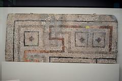 Chicago, IL - University of Chicago - Oriental Institute - Megiddo Gallery - Khirbet el-Kerak - Mosaic Pavement (jrozwado) Tags: northamerica usa illinois chicago universityofchicago university museum orientalinstitute middleeast neareast history archaeology megiddo mosaic
