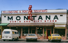 Curio & Gift Shop (John M Poltrack) Tags: 1970s americana imaging montana places scannedmedia technology time unitedstates lightroom