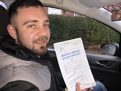 🚗| Massive congratulations  to Vasile Andrusca passing his driving test with only two minor faults! Well done my friend! 💪🙌  www.leosdrivingschool.com