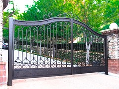 Hillside gate
