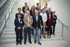 Family photo of the First session of the ITF Working Group on Drones in the Transport System (International Transport Forum) Tags: itf oecd internationaltransportforum drones transport integration innovation paris