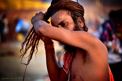 A Sadhu (Hindu monk) (Joy lens) Tags: india incredible sadhu hindu monk asia joydeep portrait