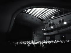 Night concert at La Laboral (La nesto de la lango) Tags: concierto concert theatre teatro lalaboral gijón spain asturias noche architecture arquitectura líneas composición composition night