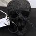 """Black Skull"" by Heather S, 3D handmade printed filament, $20.00"