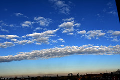 Al calar del sole (Paolo Bonassin) Tags: clouds nubi wolke sky