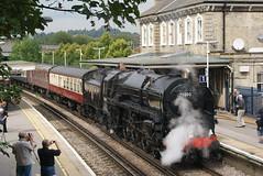 70000 (Gricerman) Tags: chertsey chertseystation 70000 britannia britanniaclass cathedralsexpress
