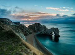 Durdle Door (selvagedavid38) Tags: dorset durdledoor seascape landscape cliff shore coast arch rocks purbeck dawn sunrise