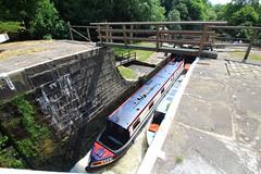 Bingley Five Rise Locks (jdathebowler Thanks for 3 Million + views.) Tags: bingleyfiveriselocks barges lock bingley westyorkshire waterscape riverandcanaltrust canal leedsliverpoolcanal canalboats lockbridge