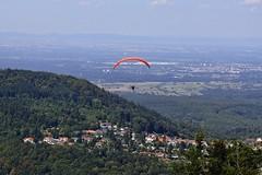 Gleitschirmflieger (##thomas##) Tags: gleitschirmfliegen paragliding merkur badenbaden ebersteinburg rheintal