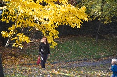 Sue In Olivia Park (Joe Shlabotnik) Tags: foresthillsgardens sue queens autumn november2018 foliage everett fall 2018 proudparents foresthills justsue afsdxvrzoomnikkor18105mmf3556ged