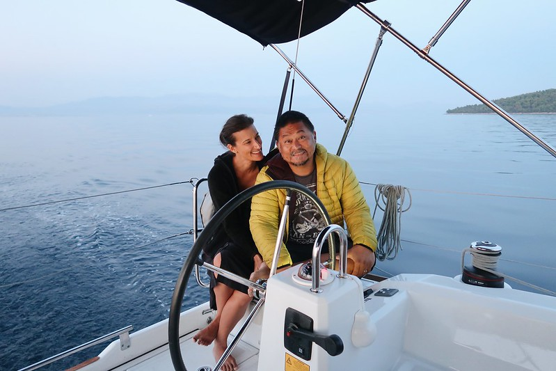 Sailing the Adriatic Sea in Croatia with Orvas Yacthing.