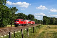 DB 111 116 - Gandesbergen (b. Eystrup) (Pau Sommerfeld Acebrón) Tags: