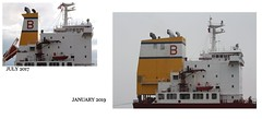 Songa Sapphire (Das Boot 160) Tags: songasapphire tanker tankers ships sea ship river rivermersey port docks docking dock boat boats maritime mersey merseyshipping fog