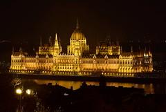 Budapest's parliament - BUDAPEST - HUNGARY (Rostam Novák) Tags: parliament night photo nikon badapest hungary outdoor city urban architecture