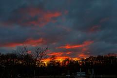 Ingang Hoenderloo (doevos) Tags: hoenderloo ingang npdhv sunset wolken zonsondergang gelderland netherlands