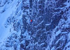 Matt Helliker Knuckleduster, Stob Coire nan Lochan (Omega Guiding) Tags: mixedclimbing climbing winter scotland steep rock