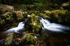 Separation (Rico the noob) Tags: dof rock d850 lakedistrict 2470mm nature water outdoor 2470mmf28 rocks longexposure waterfall travel published leaves 2018 landscape stones uk river