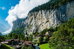 Lauterbrunnen (olle.graf) Tags: 2018 olle berneroberland d3300 lauterbrunnen nikon schweiz september switzerland berge eis ice mountain schnee snow bern