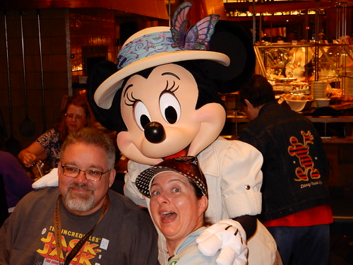 "Tracey and Scott with Minnie Mouse • <a style=""font-size:0.8em;"" href=""http://www.flickr.com/photos/28558260@N04/46047726681/"" target=""_blank"">View on Flickr</a>"
