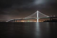 Bay Bridge from Treasure Island (mjhedge) Tags: bay bridge baybridge treasureisland night nightscape water sanfrancisco oakland sony sonyalpha a7riii 24105mmf4g 24105 24105mm california soe