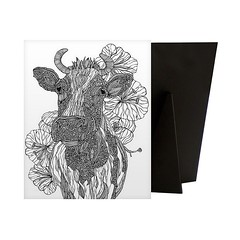 Moo - Contemporary line art of a cow with intricate designs against a background of flowers and white background.   Check out our website: https://spaceplug.com/moo.html . . . . #spacepluug #marketplace #moo #cow #animal #canvas #canvasdem and #art #canva (spaceplug) Tags: gift love blackwhite canvas art marketplace like happy like4like cow canvasdem moo createart nice amazing followus canvasart animal colorig spacepluug flattabletop style walart follow4follow