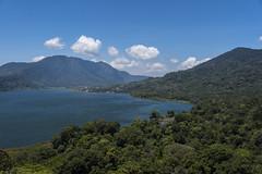 twin lakes bali (Greg Rohan) Tags: landscape clouds blue sky green mountains mountain twinlakes lake asia indonesia bali d750 2018 nikkor nikon water lakes