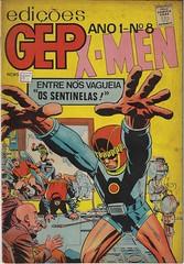 X-Men #8 (Rare Comic Experts 43yrs of experience) Tags: komickaziofficial braziliancomics revista igcomics foreigncomiccollector xmen marvel marvelcomics comics rarecomics vintagecomics oldcomics hq gibi quadrinhos internationalcomics foreigncomics