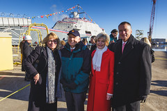 20181215_Y5A8672_m (LCS Team Freedom) Tags: 2018 christening lcs lcs19 launch littoralcombatship marinette shipyard stlouis usnavy usn wi wisconsin