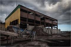 Abriss der Getreidespeicher (geka_photo) Tags: gekaphoto kiel schleswigholstein deutschland dietrichsdorf ostuferhafen abriss getreidespeicher