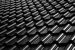 Black roof (KnutAusKassel) Tags: bw blackandwhite blackwhite nb noirblanc monochrome black white schwarz weiss blanc noire blanco negro schwarzweiss roof dach dachziegel
