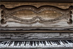 Tickle those Ivories (A Anderson Photography, over 2.9 million views) Tags: piano abandoned canon keys ivory
