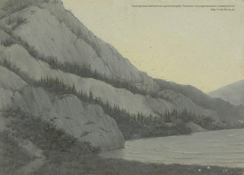 24. Белый Бом на реке Чуе. Вид с юго-запада.