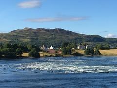 Connel nr Oban Scotland. (Bennydorm) Tags: sky hills escocia ecosse schottland lascozia julio juillet july scenic blue wasser agua aqua eau water