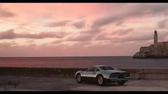 Ferrari Dino 246GT (at1503) Tags: water sky red purple clouds ferrari dino246 ferraridino246 lighthouse cuba warmtones view italiancar gtsport granturismo granturismosport motortsport racing game gaming ps4
