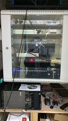 "Hikvision Decoder Installed In IT Rack, Power supply connected to UPS, 2 x 20 m Cable Routed and connected to 2 x TV's in the Security Office to view CCTV Cameras. Location: Andover, Hampshire, England. • <a style=""font-size:0.8em;"" href=""http://www.flickr.com/photos/161212411@N07/46883687132/"" target=""_blank"">View on Flickr</a>"