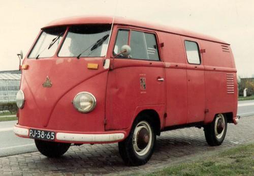 "PJ-38-65 Volkswagen Transporter bestelwagen 1956 ""Brandweerkorps - Ilpendam"" • <a style=""font-size:0.8em;"" href=""http://www.flickr.com/photos/33170035@N02/46973340161/"" target=""_blank"">View on Flickr</a>"